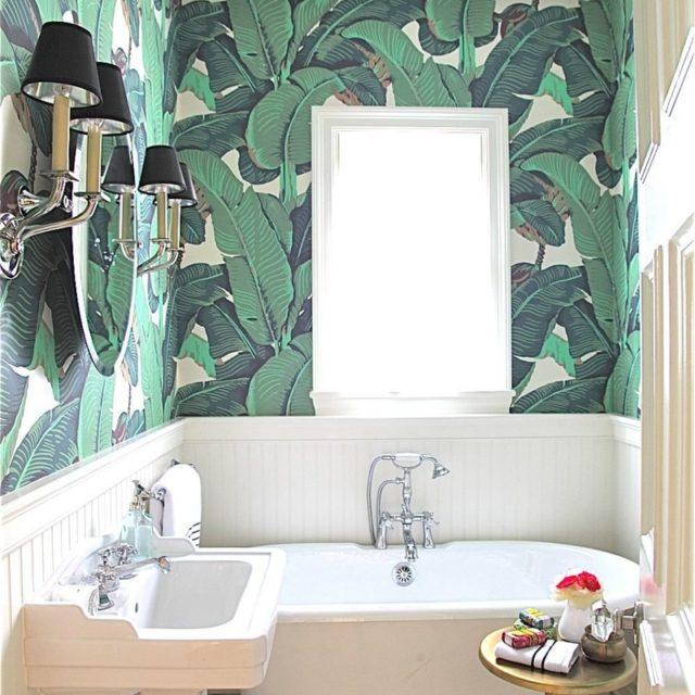 Naturinslag i badrumsinredningen