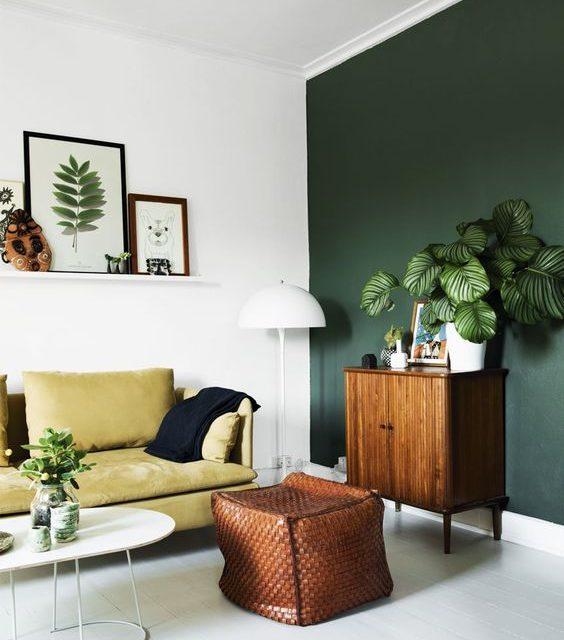Inred ditt hem med grönt