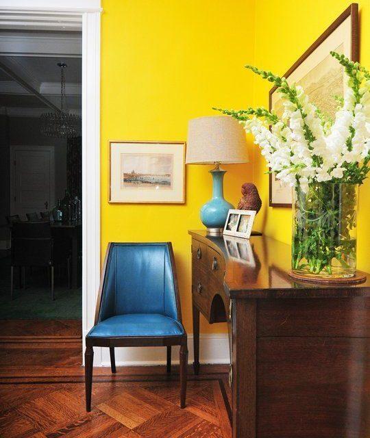 Inred ditt hem med gult