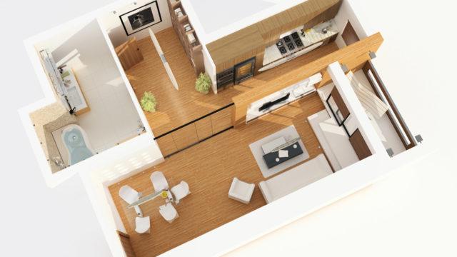 Att flytta från större till mindre – inredningsguide i 5 steg
