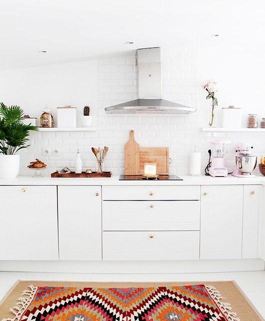 Inred ditt kök med matta