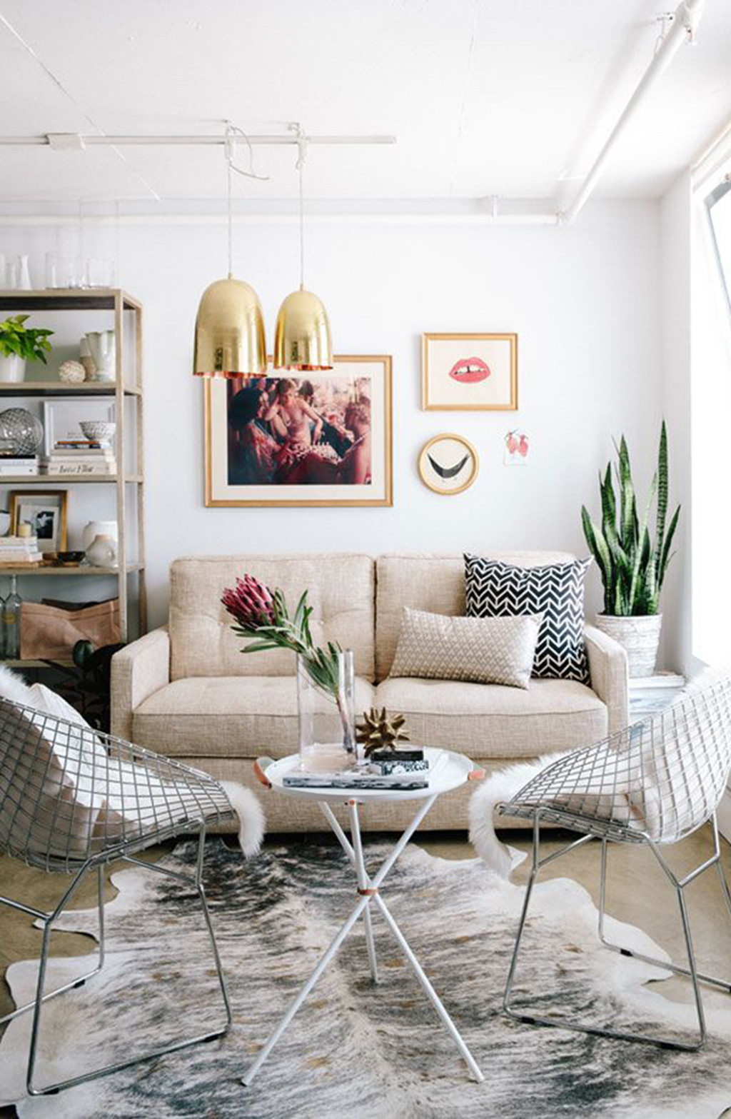 Smart inredning gör ditt vardagsrum större