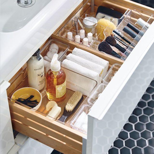 Förvaring inredning badrum