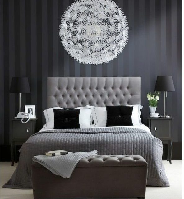 Inredning sovrummet