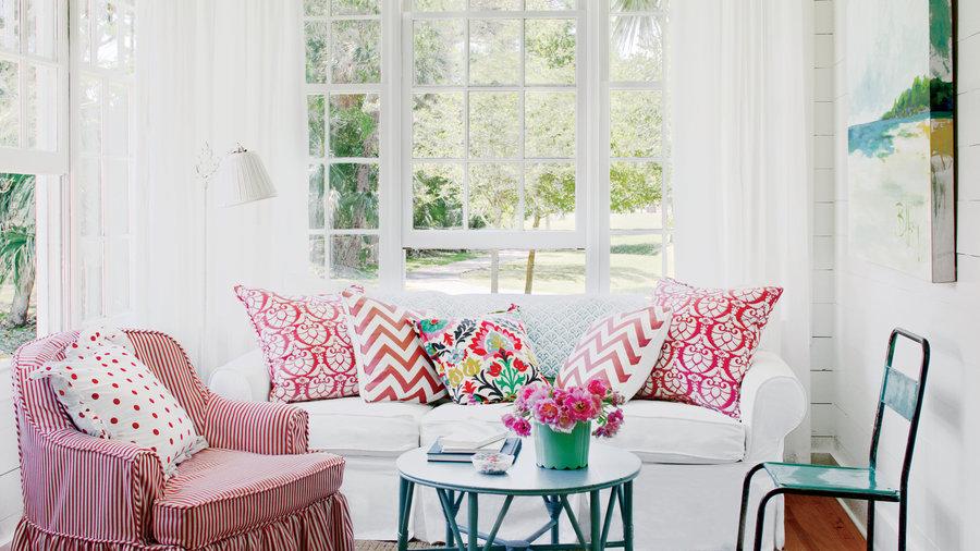 Vitalisera din inredning enkelt & billigt med textil