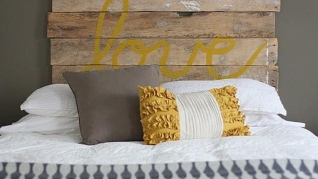 Inred för bättre sömn med de här fina sänggavlarna