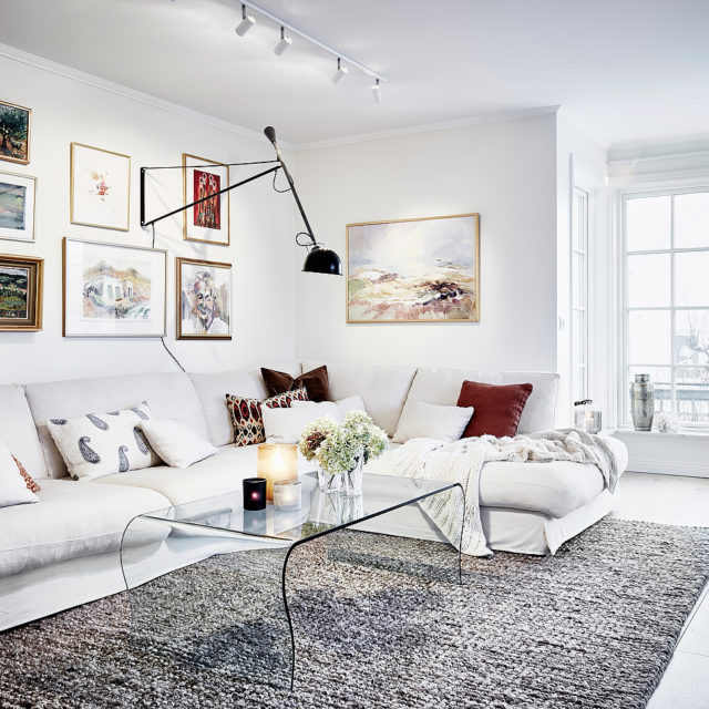 Inredning soffa