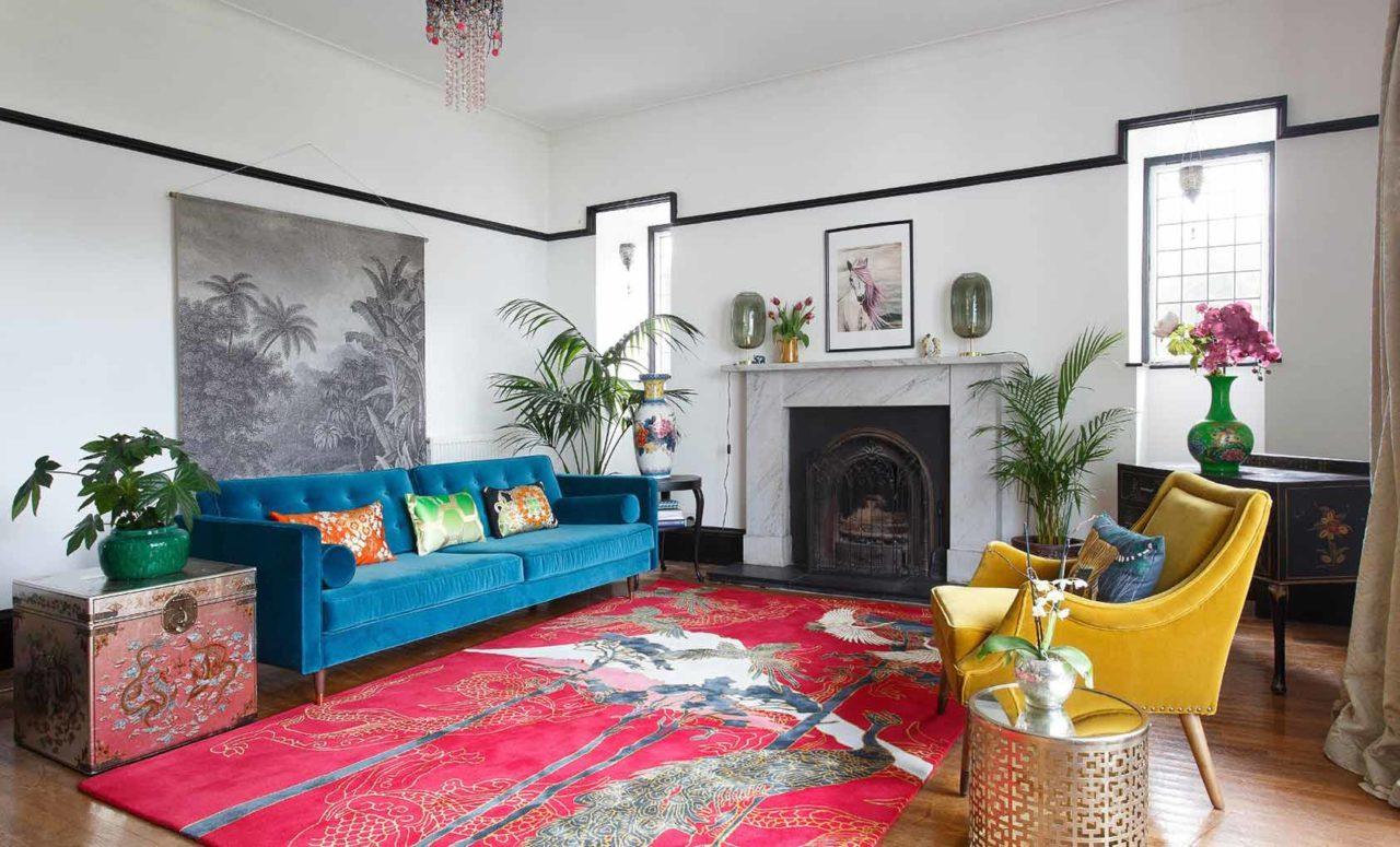 Så inreder du med mattor – 7 tips för rätt stil, storlek & placering