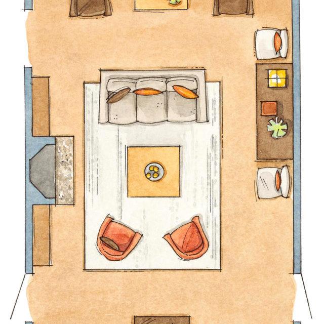 Inredning vardagsrum