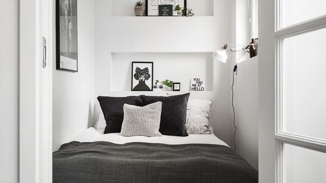 8 tips hur du inreder ett litet sovrum så det känns stort