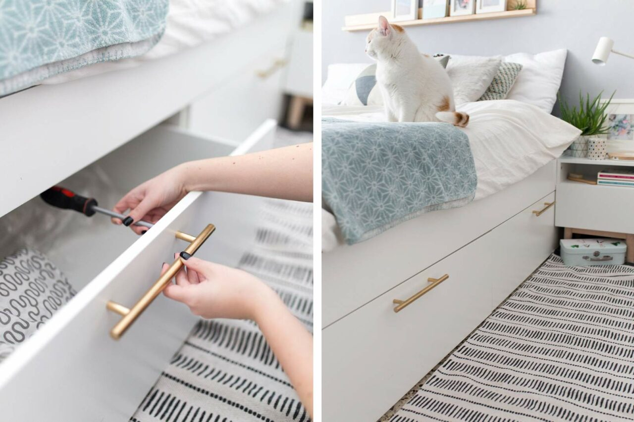 9 tips för smart & snygg förvaring i ditt sovrum