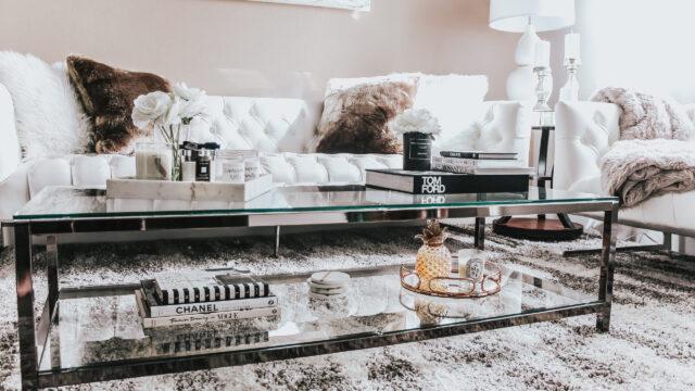 Så pimpar du soffbordet så att det förgyller hela ditt vardagsrum