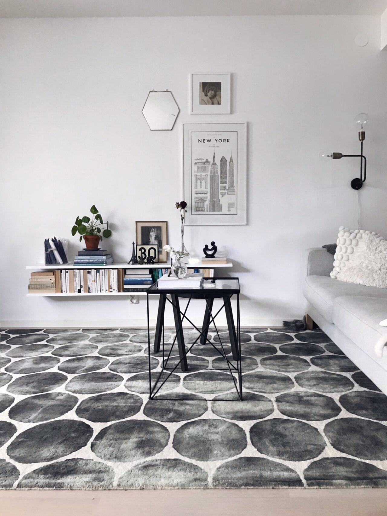 Så värmer du upp din inredning med mattor