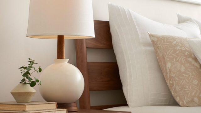 Inred för lyxigare känsla i sovrummet med belysning