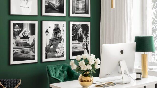 Så inreder du ett inspirerande & energifyllt hemmakontor